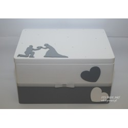 Pudełko na ślubne koperty - Kopertówka 3