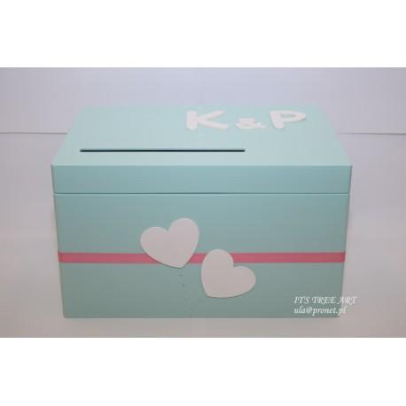 Pudełko na ślubne koperty - Kopertówka 4