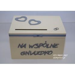 Pudełko na ślubne koperty - Kopertówka 5