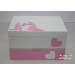 Pudełko na ślubne koperty - Kopertówka 6