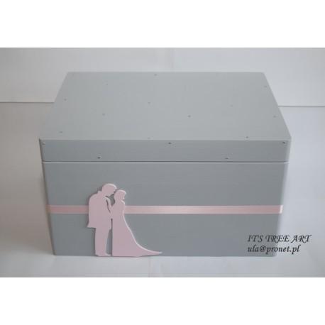 Pudełko na ślubne koperty - Kopertówka 9