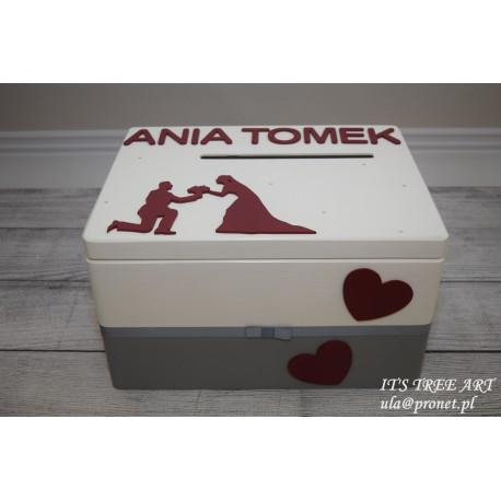 Pudełko na ślubne koperty - Kopertówka 10