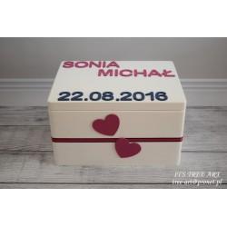 Pudełko na ślubne koperty - Kopertówka 12